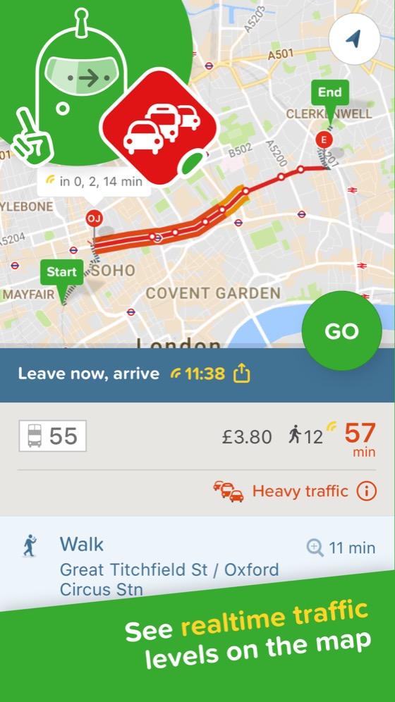 Citymapper — The Ultimate Transport App