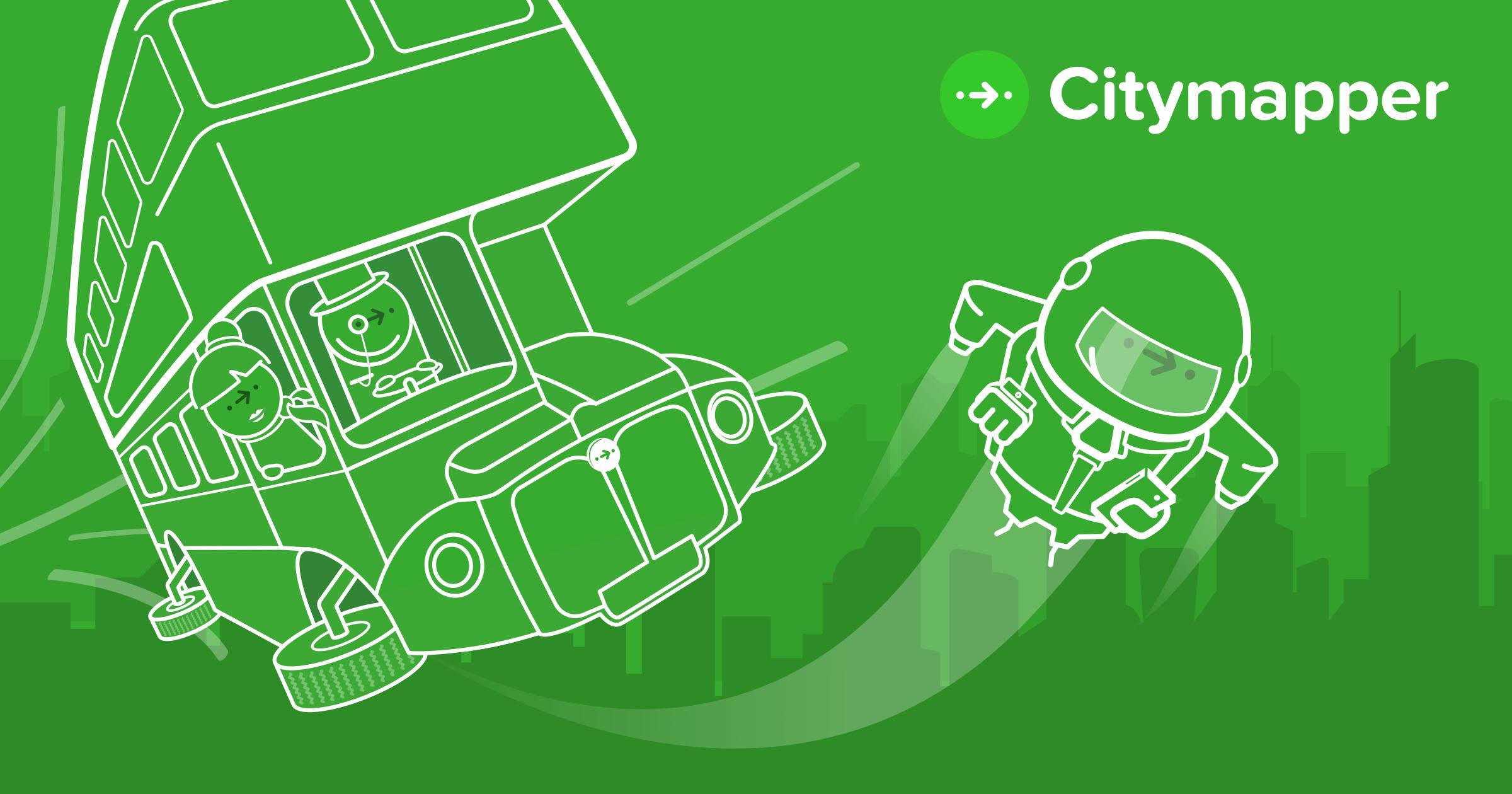 Resultado de imagem para CityMapper